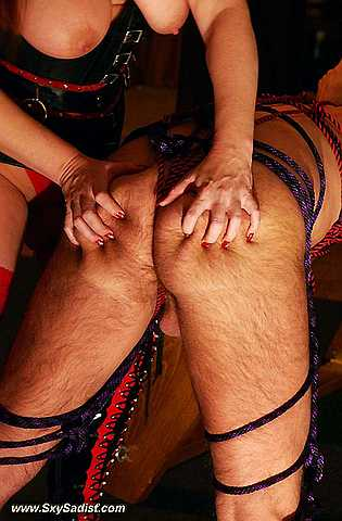 Slave training, spaking, corporal